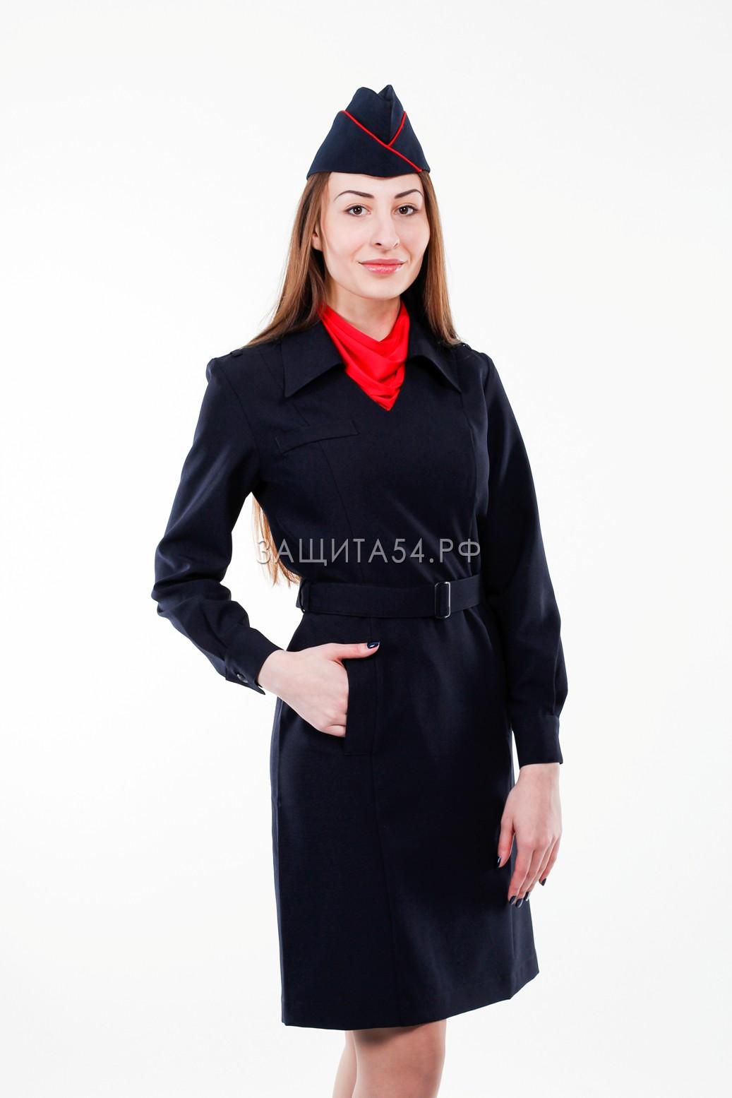 Платье Полиция д/р (п/ш)
