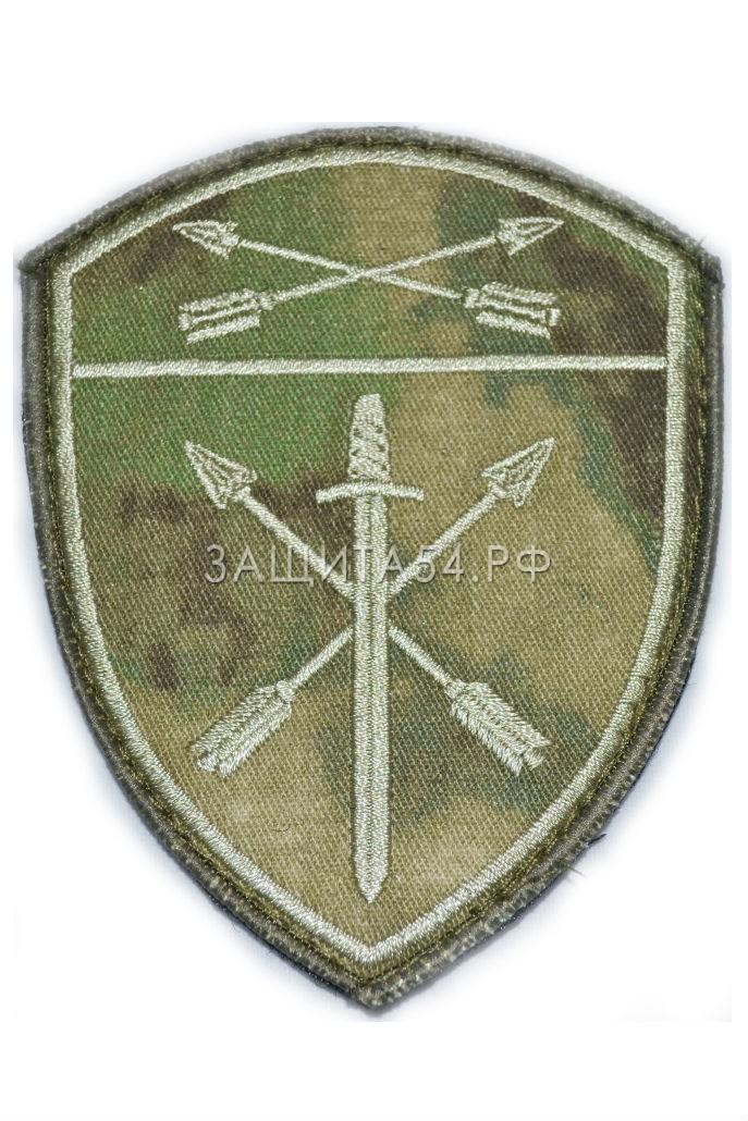 Шеврон вышитый НГ Оперативного назначения СФО мох на липе
