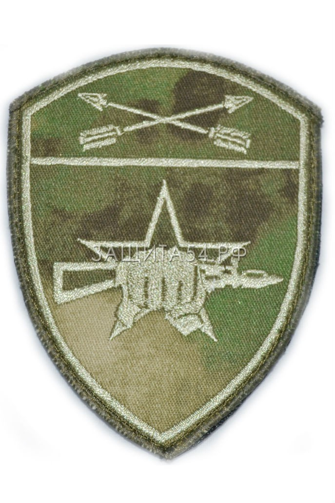 Шеврон вышитый НГ Спецназ СФО мох на липе