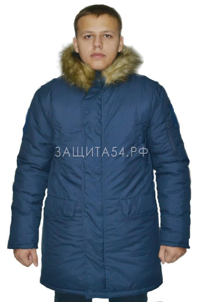 Куртка зимняя Аляска ВВС синяя